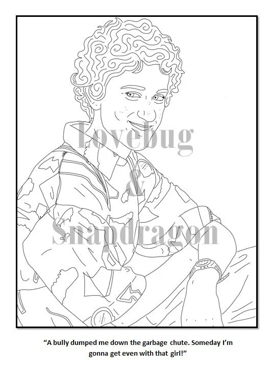 Saved by the Bell Coloring Book // Instant Print Digital