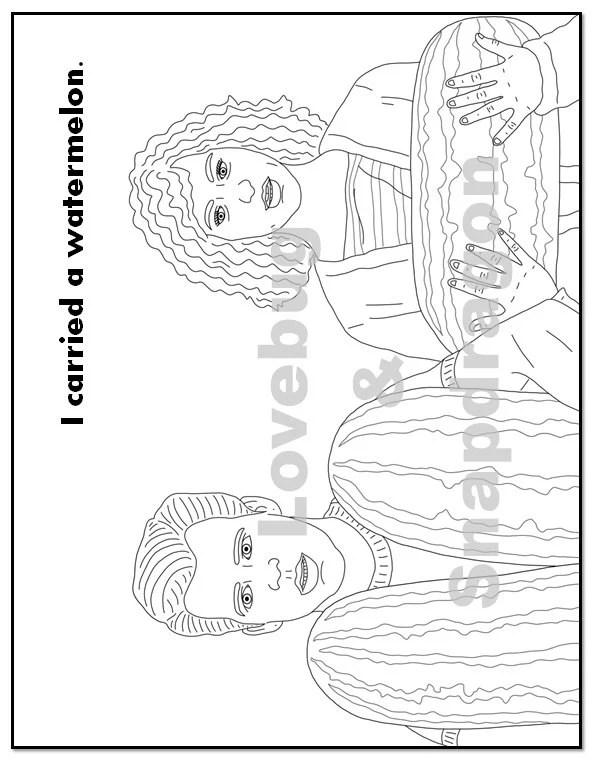 Dirty Dancing Coloring Book // Instant Printable Digital