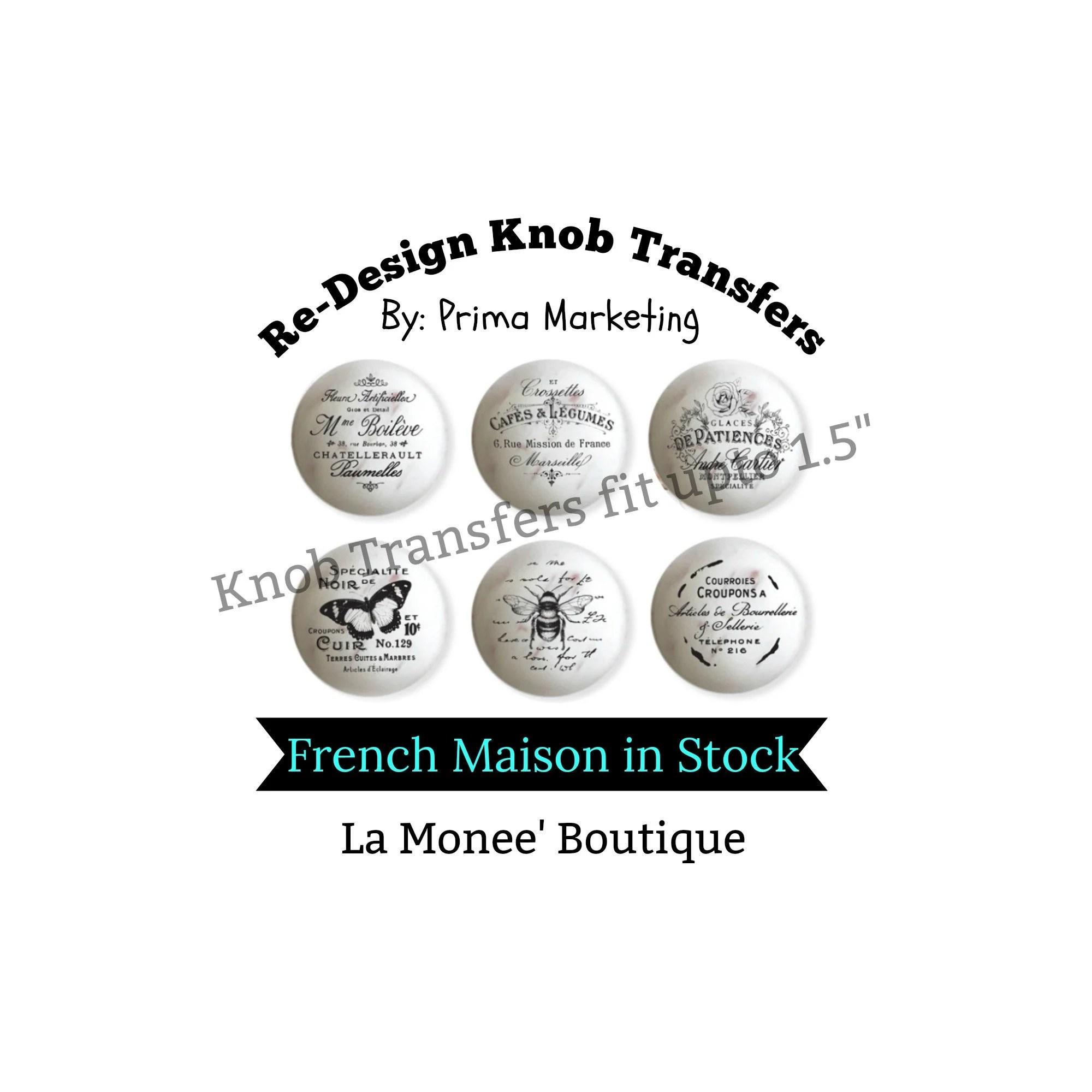 Redesign Knob Transfer,-French Maison- Home Decor by Prima