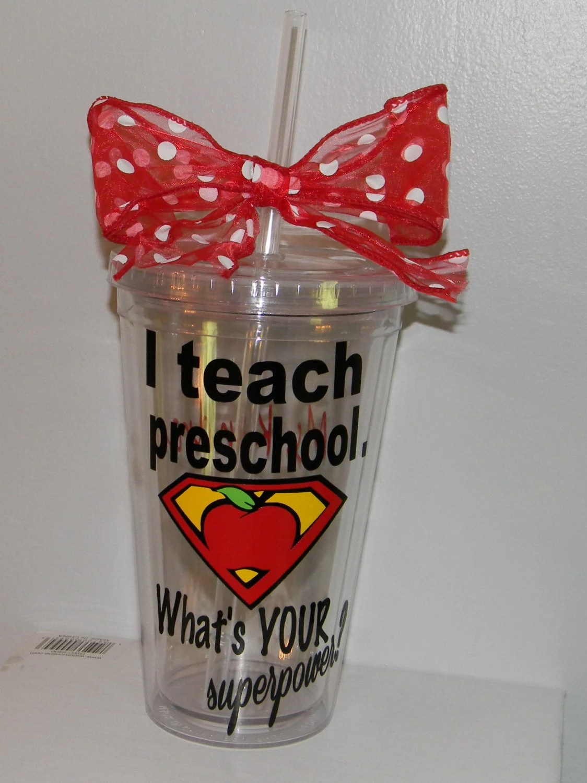 Preschool Teacher Christmas Gift