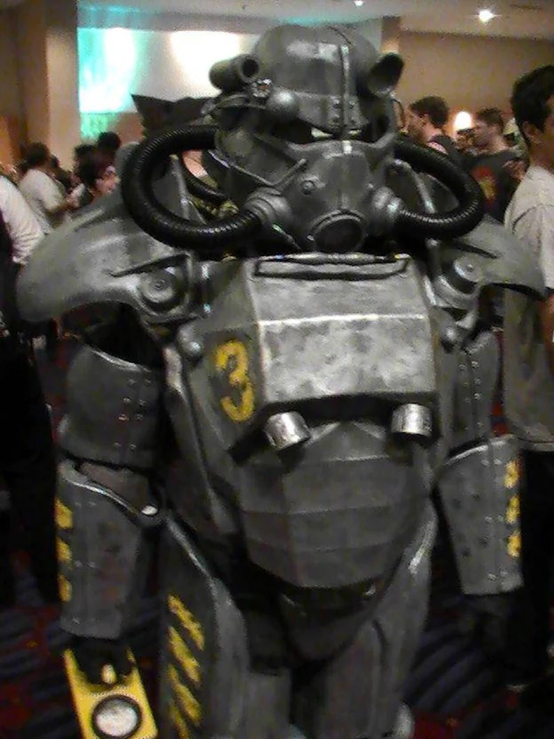 fallout inspired armor fallout