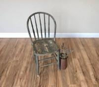 Rustic Wood Chair, Farmhouse Chair