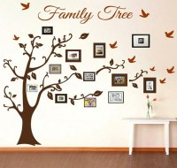 Family Tree Wall Decal Picture Frame Wall Decals Living