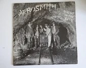 """Plays Well First US Issue 1979 Aerosmith Columbia Records Vinyl LP Record Album FC 36050 """"Night in the Ruts"""""""