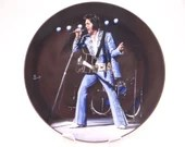 "Vintage Elvis Presley Delphi Performance Collection Series ""Madison Square Garden, 1972"" Limited Edition Collector Plate"