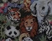 Unopened Dimensions Gold Collection Petite Counted Fantastic Creatures Cross Stitch Kit Lion Panda Tiger Elephant Koala Zebra Cross Stitch