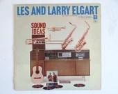 "1958 Columbia Records Les and Larry Elgart ""Sound Ideas"" LP Vinyl Record Album Jazz Album CL 1123"