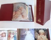 1996 Doll Crafter Magazines with Doll Patterns in Binder a Complete 12 Month 1996 Year Magazines with Monthly Doll Patterns Intact