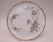 Vintage 1890s Factory Hand Decorated Charles Field Haviland Limoges Plate 10 Available