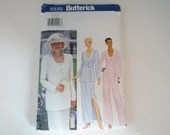 Vintage Butterick Pattern #5930 Size 8 10 12 Women's Formal Suit Dress Pant Sewing Pattern - Bride or Mother of the Bride or Bridesmaid