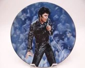 "Vintage Elvis Presley Delphi Performance Collection Series ""'68 Comeback Special"" Limited Edition Collector Plate"