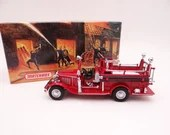 MIB Vintage Matchbox YFE09 Models of Yesteryear 1932 Ford AA Open Cab Fire Engine Diecast Model Fire Truck