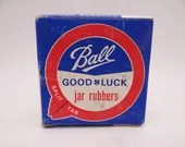 Vintage NOS Ball Jar Rubbers Seals Pack of 12 in Original Box