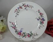 "Wedgwood English Bone China Salad Plate  ""Devon Sprays"" Pattern 3 available."