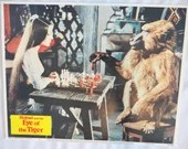 """Original Vintage 1977 Columbia Pictures Adventure """"Sinbad and the Eye of the Tiger"""" Movie Lobby Card"""