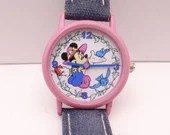 Vintage Walt Disney Minnie Mouse Ladies Watch with original band