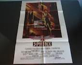 "Original One Sheet Movie Poster 1981 ""The Sphinx"" - Lesley-Anne Down,  Frank Langella,  Maurice Ronet"