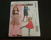 Vintage Easy McCall's #5692 Girl's Dress / Romper / Jumper Sewing Pattern for Size 2 3 4 or 5 - Unused Uncut Factory Folded New Condition