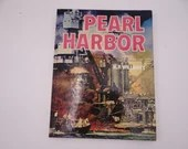 Vintage Pearl Harbor Hardcover Book by H.P. Willmott