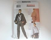 Vintage Butterick Pattern #6211 Size 8 10 12 Women's Cape Jacket Sewing Pattern - Formal or Casual