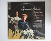 "Plays Well 1966 Simon and Garfunkel  ""Parsley, Sage, Rosemary And Thyme"" CS 9363 LP  Vinyl Album - Folk Rock"