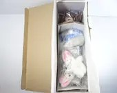 """Vintage Hamilton Collection  """"Julie"""" Doll with Bunny in Original Box"""