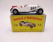 1960s Vintage Lesney Matchbox Y-10 Models of Yesteryear 1928 Mercedes-Benz 36/220 Die Cast Car in Original Box