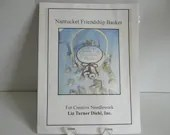 Friends Don't Let Friends Eat Chocolate Alone Friendship Basket Kit - Everything to Make This Except the Basket-Nantucket-Liz Turner Diehl