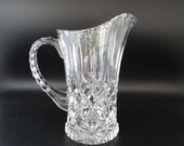 Gorham King Edward Crystal Pitcher Made in Germany for your Elegant Table a Beautiful Vintage Pitcher