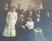 Vintage Photograph - Herbert Small Family Black and White Photograph - c. 1920-1930