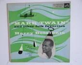 "1951 First Pressing US Issue RCA Victor Harry Belafonte ""Mark Twain and other Folk Favorites"" Vinyl Record Album Folk LPM-1022"