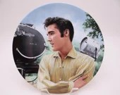 "Vintage Elvis Presley Delphi Looking at a Legend Series ""Elvis in Hollywood"" Limited Edition Collector Plate"
