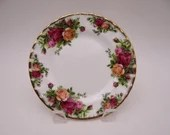 Delightful English Bone China Royal Albert Bread and Butter Plate  20 Available