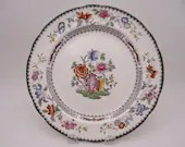 """Near Mint Vintage Spode English Bone China Made in England """"Chinese Rose"""" C1815 Dinner Plate"""