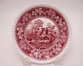 """Vintage Spode Made in England """"Spode Tower"""" Pink Sauce or Dessert Bowl - 8 Available"""