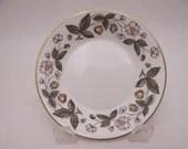 "Near Mint Vintage Wedgwood English Bone China ""Strawberry Hill""  Fruit Dessert Sauce Bowl - 12 available"