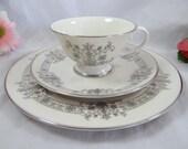 """1960s Mid Century Flintridge California """"Kismet"""" Tea Trio Teacup and Saucer American Tea Cup"""