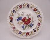 "1939 Vintage Wedgwood English Bone China ""Cornflower"" Dinner Plate AK8023"
