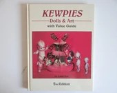 """Vintage """"Kewpies  Dolls & Art with Value Guide"""" by John Axe Hardcover Reference Book"""