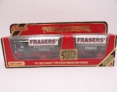 Vintage Lesney Matchbox Y-27 Models of Yesteryear 1922 Foden 'C' Type Steam Wagon and Trailer Die Cast Car in Original Box - Toy Car