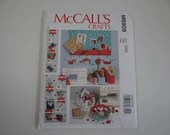 New Uncut FF McCall's Crafts 6909 Pattern - Message Board Wall Organizer Basket Organizer - Sewing Supplies and Craft Organizer