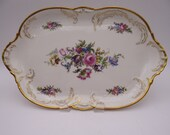 "Near Mint Vintage Rosenthal Classic Rose Ivory ""Diplomat"" 13"" Oval Serving Platter"