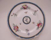 """Vintage Spode Made in England English Bone China """"Trapnell"""" Bread and Butter Plate Y6836 - 9 Available"""
