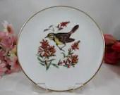 1960s Josef Kuba (JKW) West Germany Bird Plate