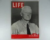 1944 Life Magazine Wartime Issue, July 10 , Nimitz of the Pacific