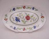 "Vintage Villeroy & Boch ""Persia"" Pickle Dish Oval Serving Dish"