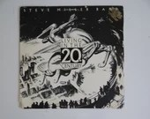 """Promo First US Pressing 1986 Capitol Records Steve Miller Band """"Living in the 20th Century"""" PJ-12445 Vinyl LP Record Album Blues Rock"""