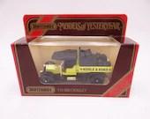 "Never Out of the Box Lesney Matchbox Y-13 Models of Yesteryear 1913 Crossley Van ""Kohle & Koks' in Original Box-  Diecast Car"