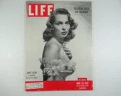 1951 Life Magazine, June 25,  Janet Leigh A Marriage and a New Career - Atom Bomb