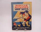 Vintage 1940 Popular Mechanics Shop Notes Volume 36